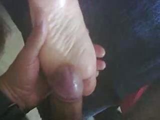cum on my wifes feet.