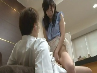 japanese youthful wife to acquire foot massage