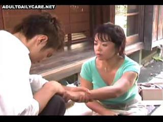 japanese wife is engulfing husbands pecker