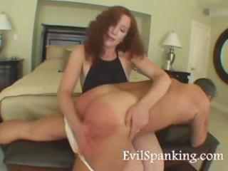 milfs spanking husband booty hard
