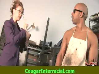 interracial sex - hot cougar d like to fuck
