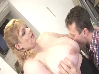 blond large glamorous woman-mother id like to