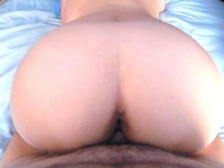 fucking my wife curly pussy (doggystyle)