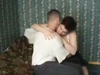 fat mature acquires a youthful fellow to fuck her