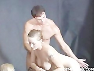 lesbian shower jilted and spanked by a giant