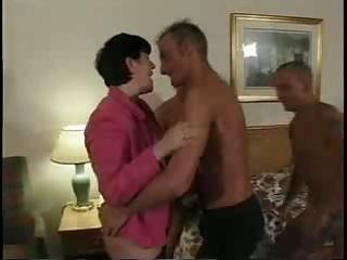 group-fucked swinger wife