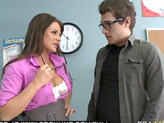 large tit dark brown milf pornstar teacher blows