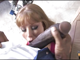 dirty mother fucks 19 inch black rod in front of