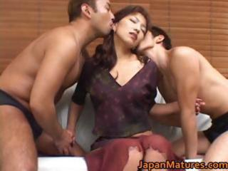 horny japanese older women engulfing part9
