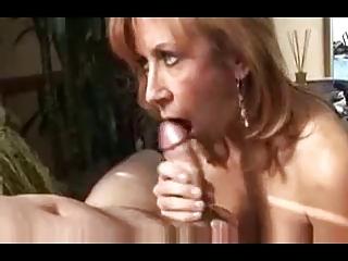 blond milf, red underware most good oral-sex by rb