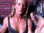charming milf in nylons gets shafted