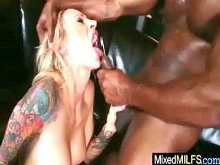 hardcore interracial sex with hawt breasty mother