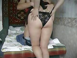 slutty chunky housewife receives a nice boinking