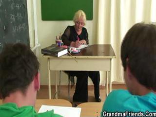 studs fuck granny teacher