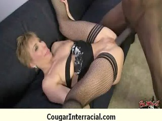 fucking hawt cougar with my giant black pounder
