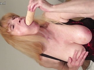 squirting grandmother really makes it is moist