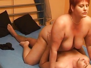 chubby dilettante wife sucks and copulates with