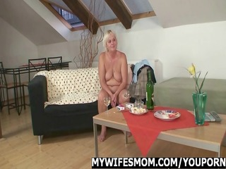 sexy orgy with granny and her son in law
