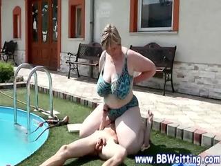 bbw plumper corpulent mature queens and dominates