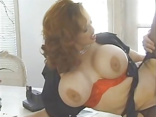 hairy redhead goes for snatch