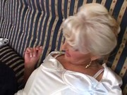 golden-haired older doxy fucking &_ pissing