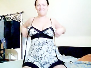 horney german wench gets wild on webcam show