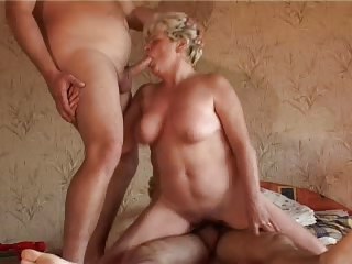 breasty sexually excited granny