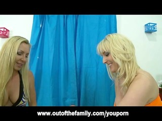 blond british d like to fuck teaches daughter to