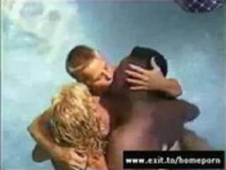 my wife going interracial at swinger pool orgy