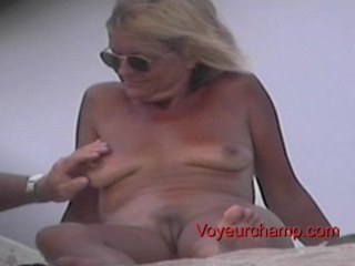 undressed beach mother i s teasing!
