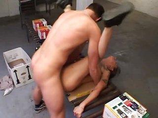 mature german woman fucked...bmw