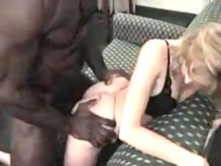 petite blonde wife barebacks a large hung