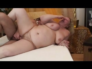 large granny sucks and bonks