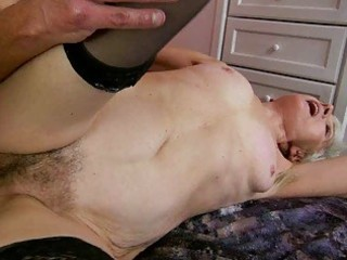 granny enjoys wicked sex with juvenile stud