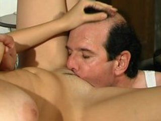 busty youthful italian done by old man