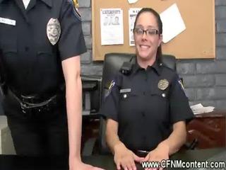 cfnm cops punishing dicks