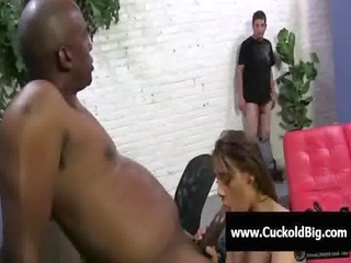 cuckold sessions - interracial group fuck 91