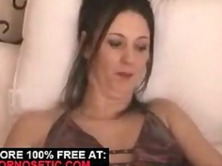 juvenile wife receives stretched with sex toy