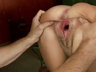 Hot granny enjyos rough fucking