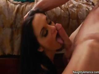 breasty hot milf bonks sons ally after seducing