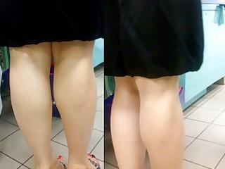 Candid mature jamaican woman feet