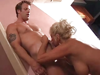large tits golden-haired mature fuck juvenile