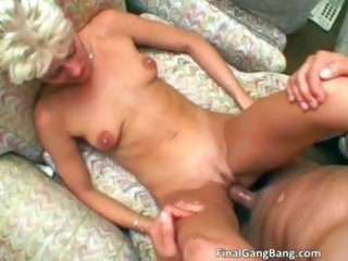 hawt golden-haired d like to fuck gets her final