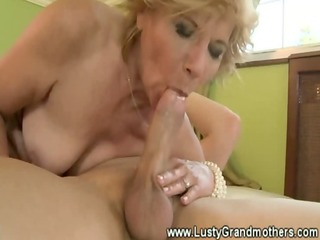 hairy granny receives her pussy plowed by dick