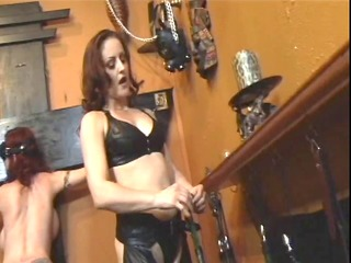 cute redhead acquires dominated by redhead in