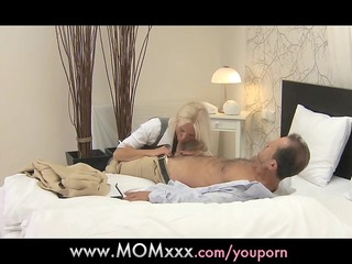 mom blonde breasty d like to fuck has multiple