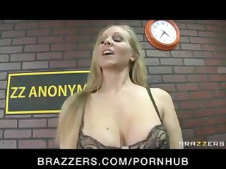 busty blond pornstar julia ann gives a class on