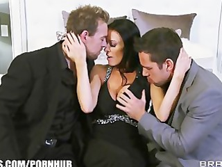 vanilla devile gets double teamed by her husband
