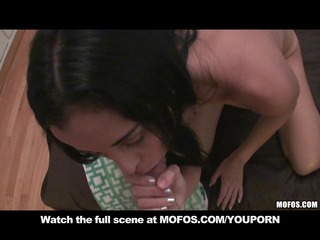 non-professional young latina wife caught in