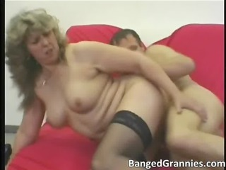 horny blond mother i wench